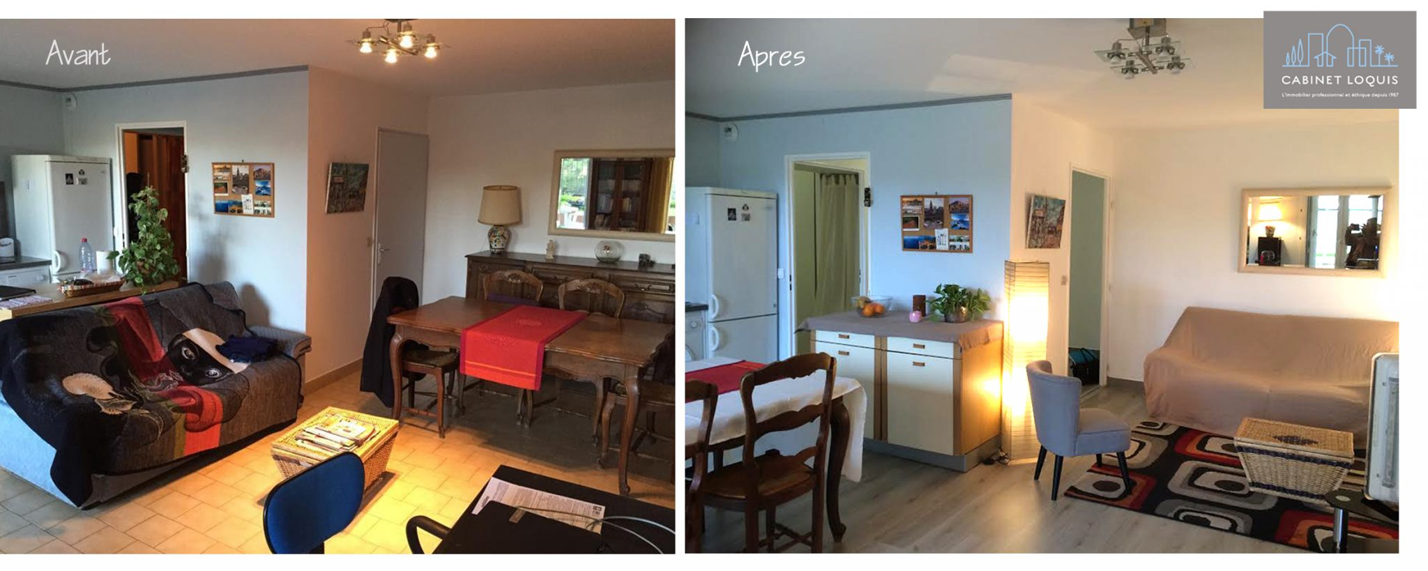 home staging la solution pour valoriser et vendre On home staging avant apres