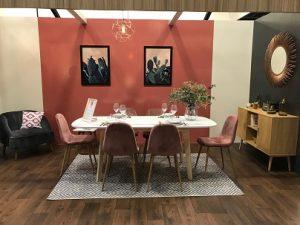 Salle à manger Cdiscount à la Foire de Paris