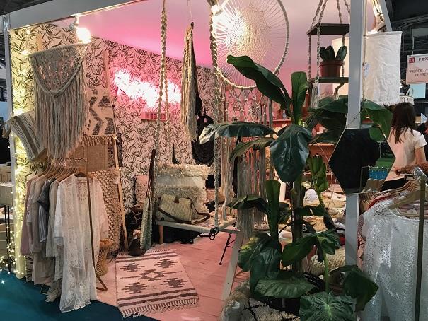 Ambiance bohème pour Pretty Wire à la Foire de Paris