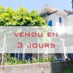 VENDU — Villa – Cimiez