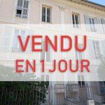 VENDU EN 1 JOUR — Studio – Saint Maurice / Valrose